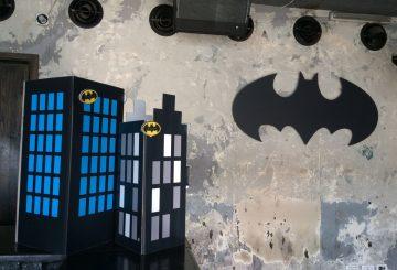 מיתוג קירות בסגנון באטמן וגוטהם סיטי
